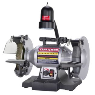 Craftsman Professional  Variable Speed 8'' Bench Grinder (21162)