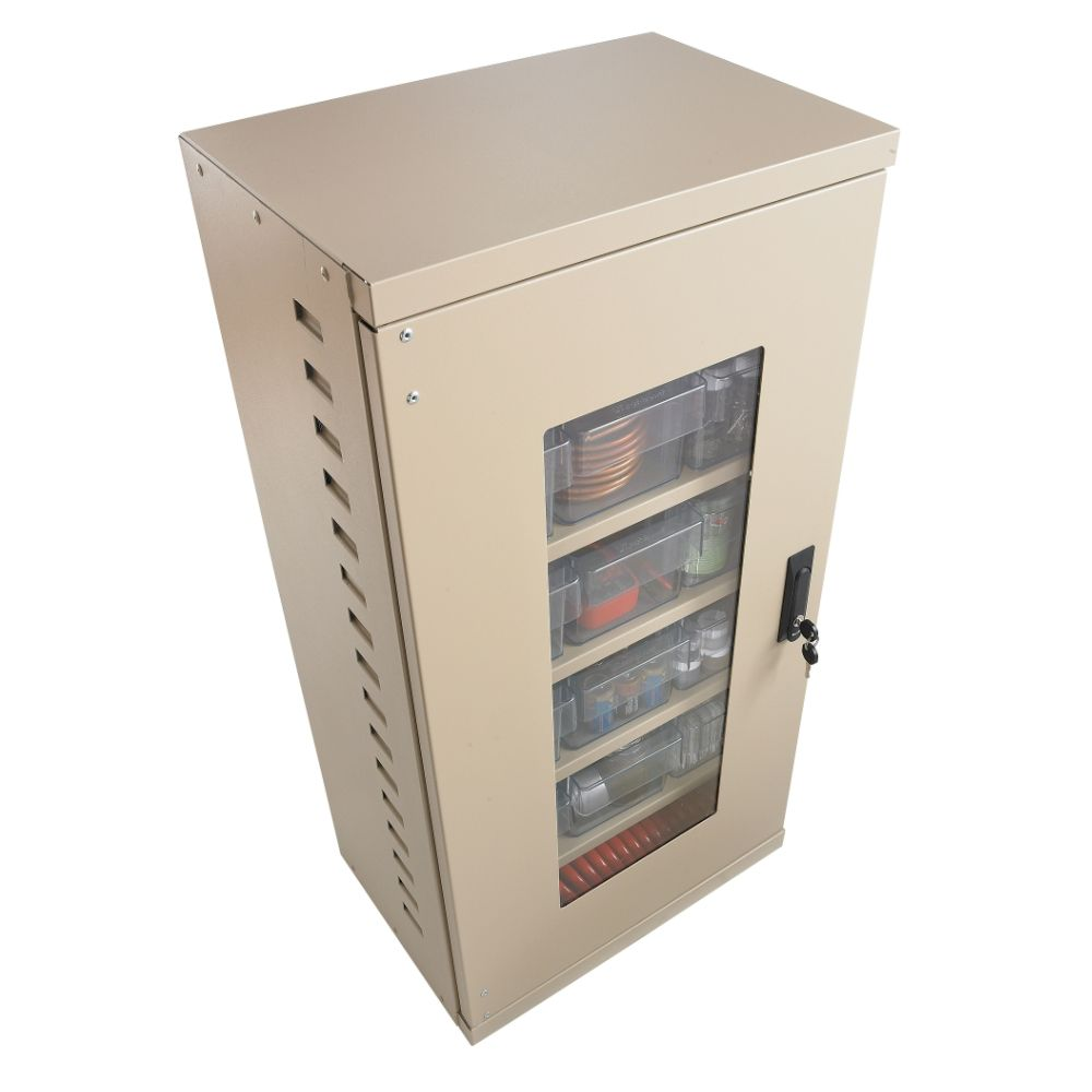 Quick-View Secure Mini Cabinet