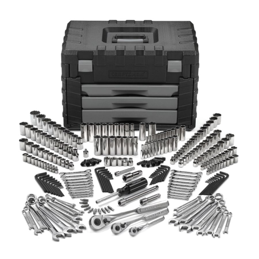 Craftsman Toolset and Lock Box
