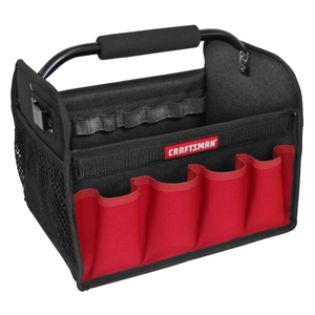 Craftsman  12 in. Tool Tote-Red