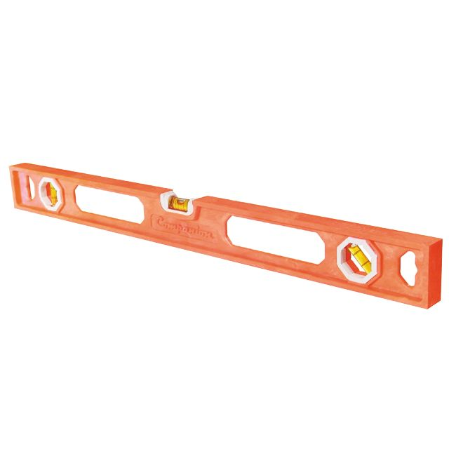 24 in. Level, Molded, High-Visibility Neon