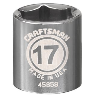 Craftsman  17mm Socket, 6 pt