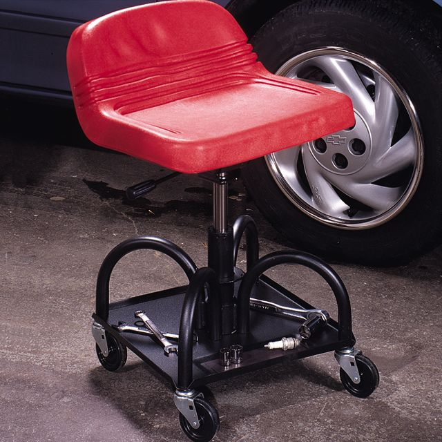 Creeper Seat, Mechanics Adjustable