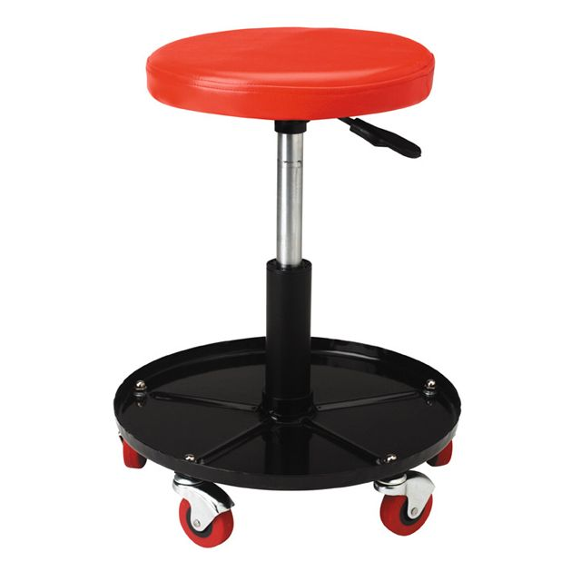I have two of the craftsman circle swivel stools. Everyone seems to make their own Sears Lowes HF Northern etc. Mighty comfortable IMO.  sc 1 st  The Garage Journal & Mechanic\u0027s Seat - The Garage Journal Board islam-shia.org