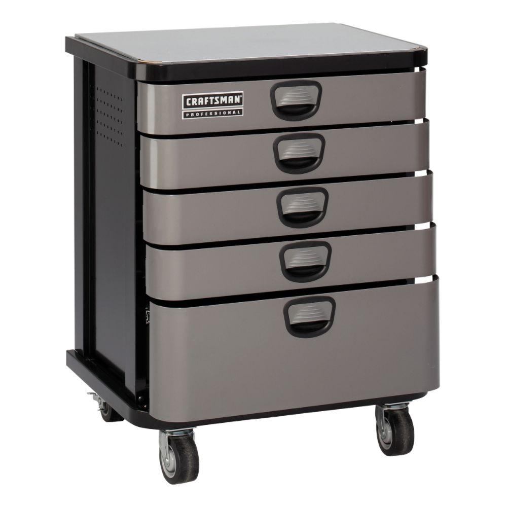 Craftsman Professional 5 Drawer Mobile Cabinet