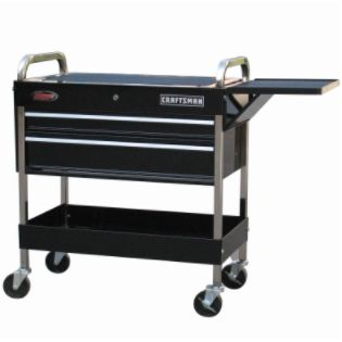 Craftsman  43-1/2'' 2-Drawer Deluxe Mechanic Cart