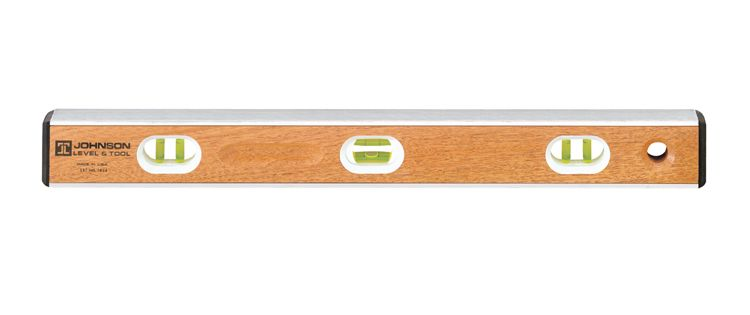 Johnson  48 in. Hardwood Aluminum I-Beam Level