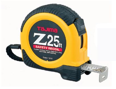 Tajima Tool Corp Z-25 dual-lock 25 ft tape measure