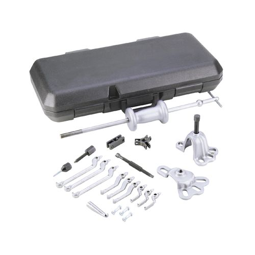 10-Way Slide Hammer Puller Set with Plastic Case