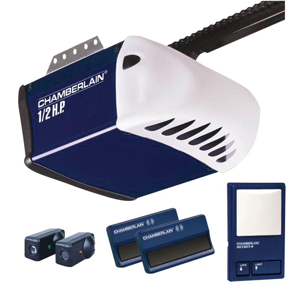 1/2 HP Chain Drive Garage Door Opener System - PD212D