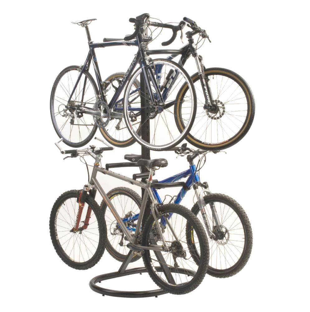 Pro Free Standing Four Bike Rack