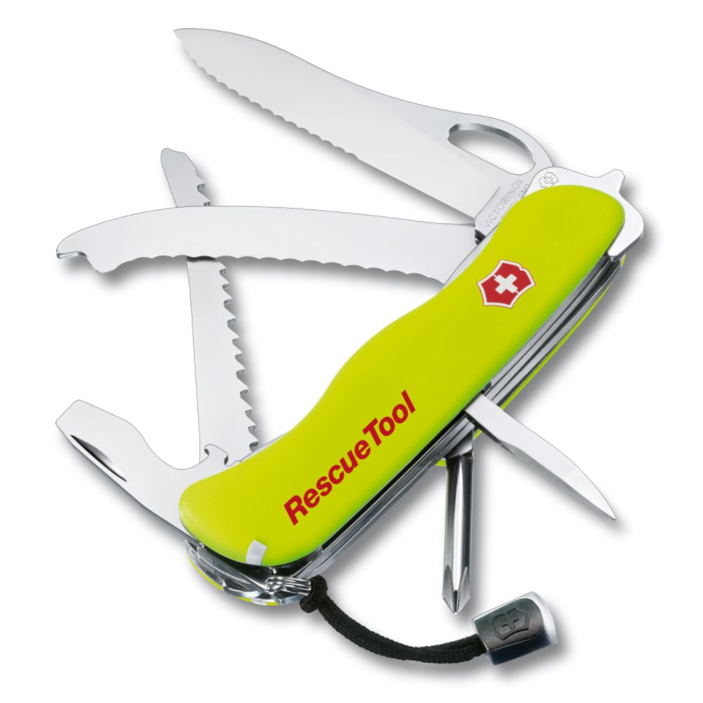 Victorinox Rescue Tool Yellow Swiss Army Pocket Knife SWISS ARMY BRANDS INC