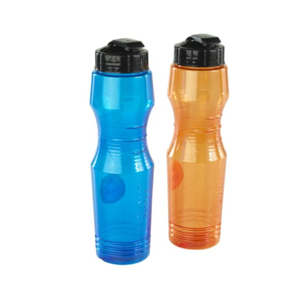 Plastic and metal water bottles They also tend to sweat in your lumbar area with no bouncing and is easy to wear under a jacket. The 20-ounce water bottle