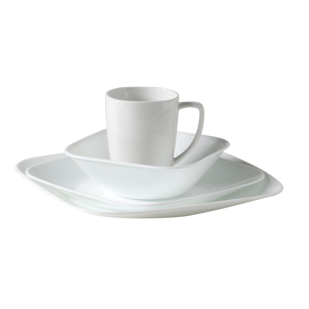 Corelle 16-piece Pure White Dinnerware Set $ 58.49