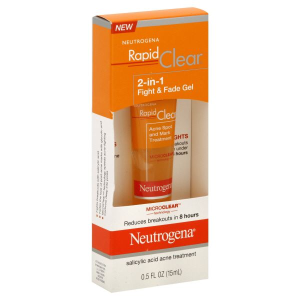 Neutrogena Rapid Clear 2-in-1 Fight & Fade Gel