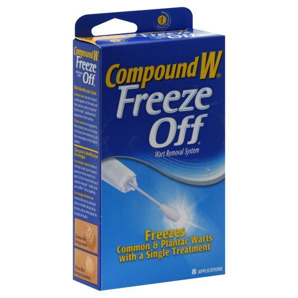 Compound W Freeze Off Wart Removal System, 8 applications $ 16.83