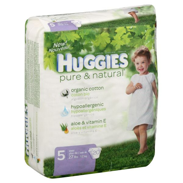Baby Diapers Natural on Natural Diapers Size 5 Over 27 Lb Disney Baby