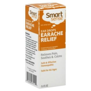 Smart Sense  Earache Relief, Ear Drops,