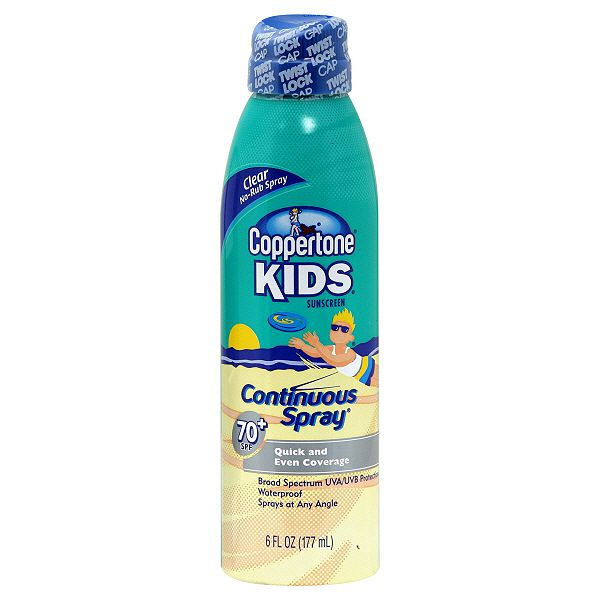 Spray On Children's Sunscreen