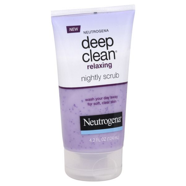 Neutrogena Deep Clean Nightly Scrub, Relaxing, 4.2 fl oz (124 ml)