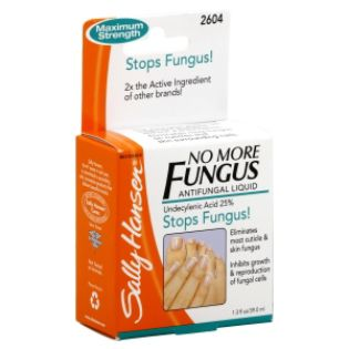 Sally Hansen No More Fungus Antifungal Liquid, Undecylenic Acid 25%, 1 ...