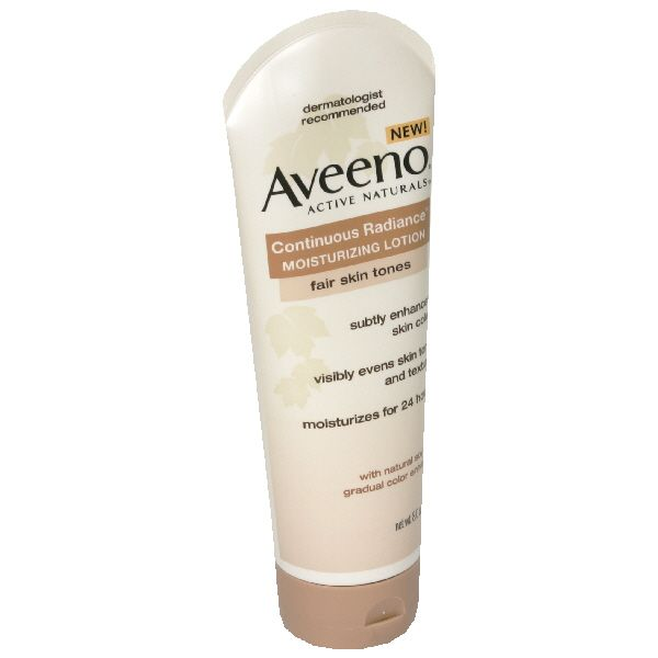Check out Aveeno Active Naturals Continuous Radiance Moisturizing Lotion, Fair Skin Tones, 8 oz (227 g) - ShopYourWay