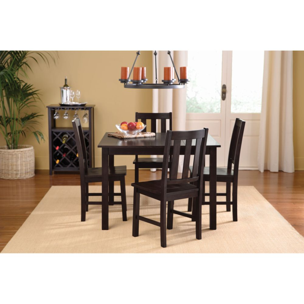 Jaclyn Smith Dining Room Furniture Jaclyn Smith Traditions Mission 5 Piece Dining Set Shop Your Way