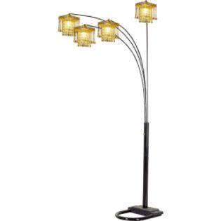 Ore 5 Arms Arch Floor Lamp - Black - For the Home - Lighting ...