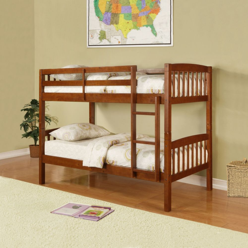 Essential Home Belmont Bunk Bed Walnut 1000 x 1000