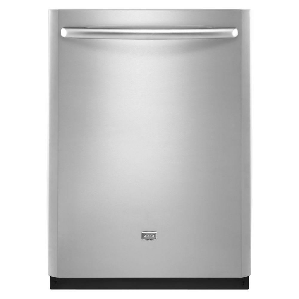 """Maytag JetClean Plus 24"""" Built-In Dishwasher with Fully Integrated Door (MDB8959AW)"""