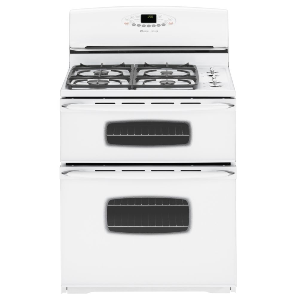STOVES MAYTAG DOUBLE OVEN STOVES