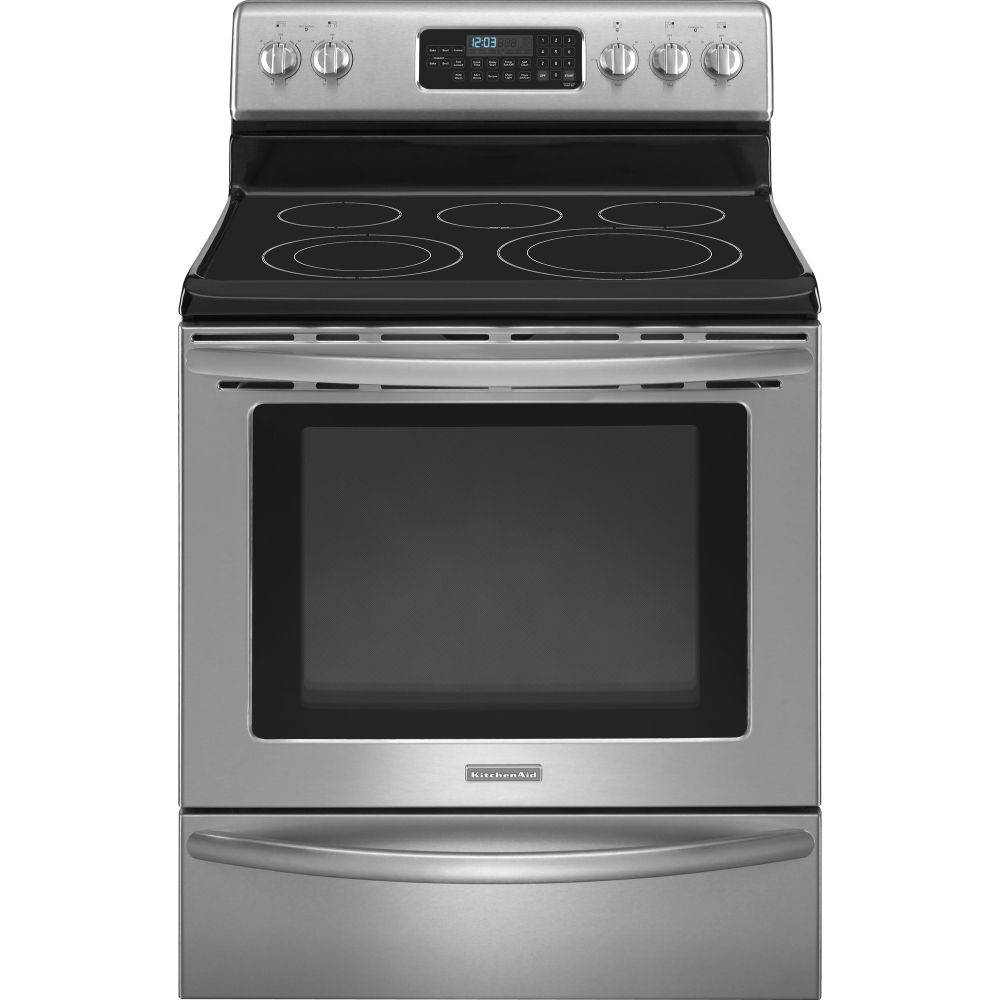 kitchen ranges on kitchenaid freestanding ranges at giant appliance