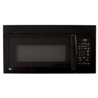 LG 30&#34 1.1 cu. ft. Microhood Combination Microwave Oven, Black