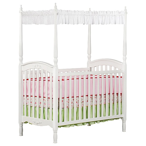Baby Canopy For Crib: 4 Poster/Canopy Crib