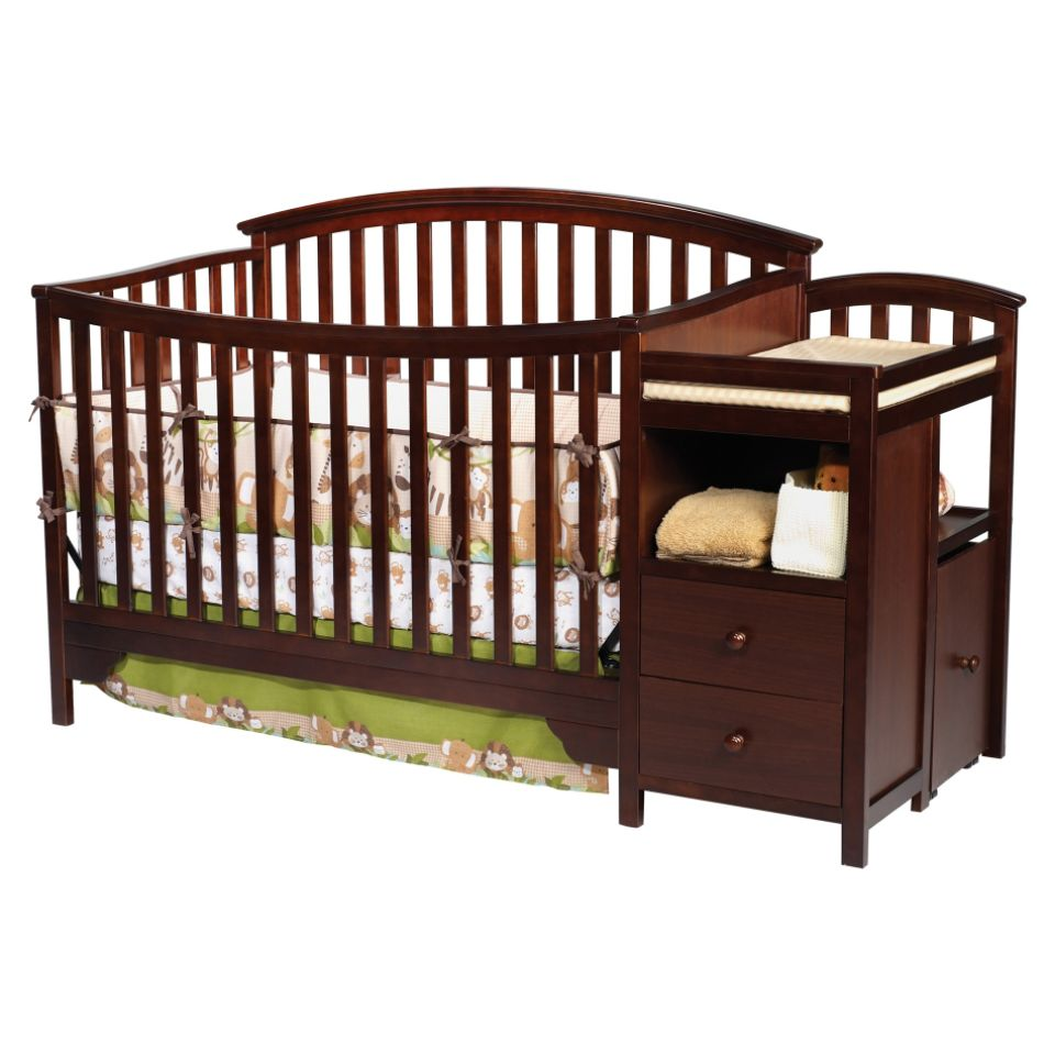 Baby Cribs With Changing Table Combo Baby Cribs With Changing Table Attached » Home Design 2017