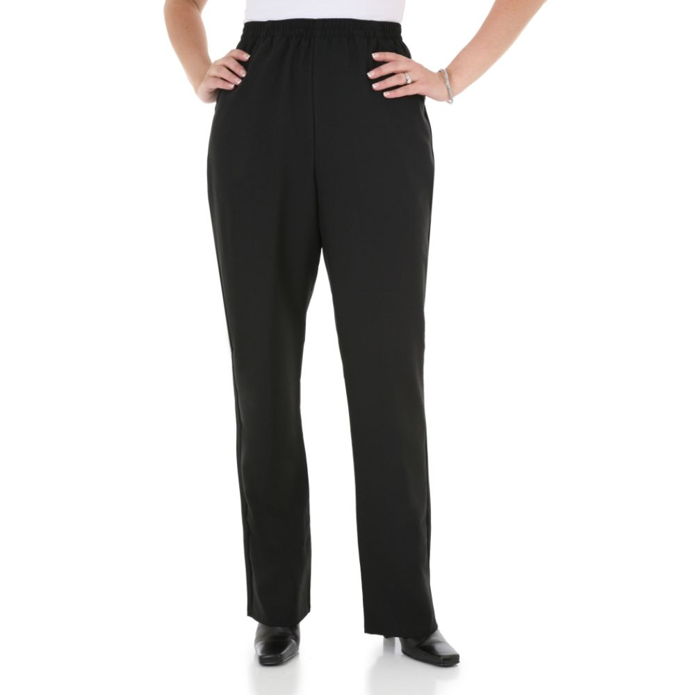 Elastic waist women s pants sears com