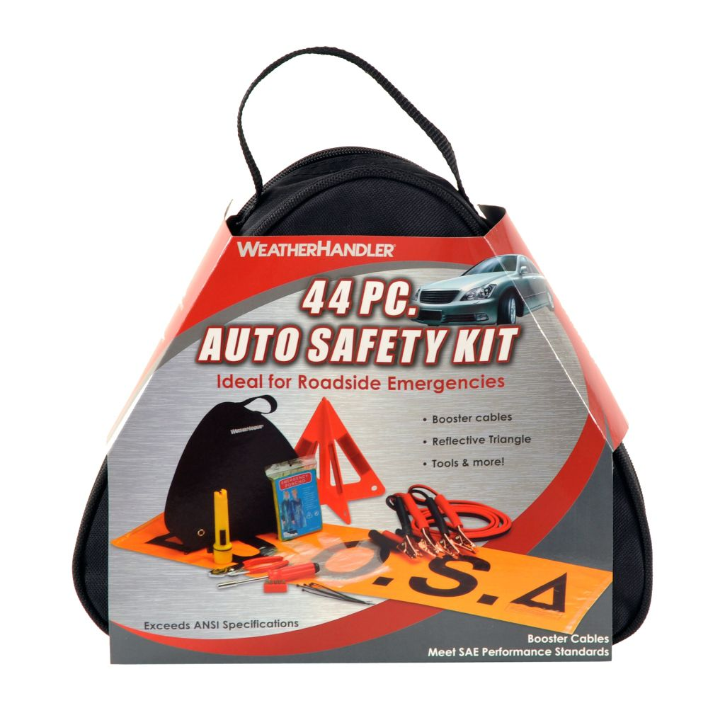 WeatherHandler 44pc Auto Safety Kit