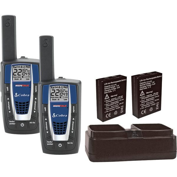 Cobra Electronics MicroTalk 25 Mile GMRS/FRS Two-Way Radio