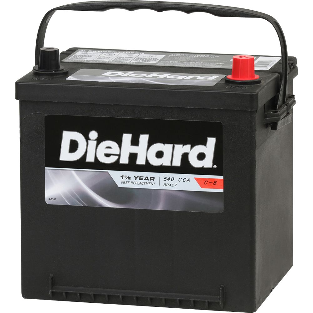 Automotive Battery, Group Size 26R (with exchange)