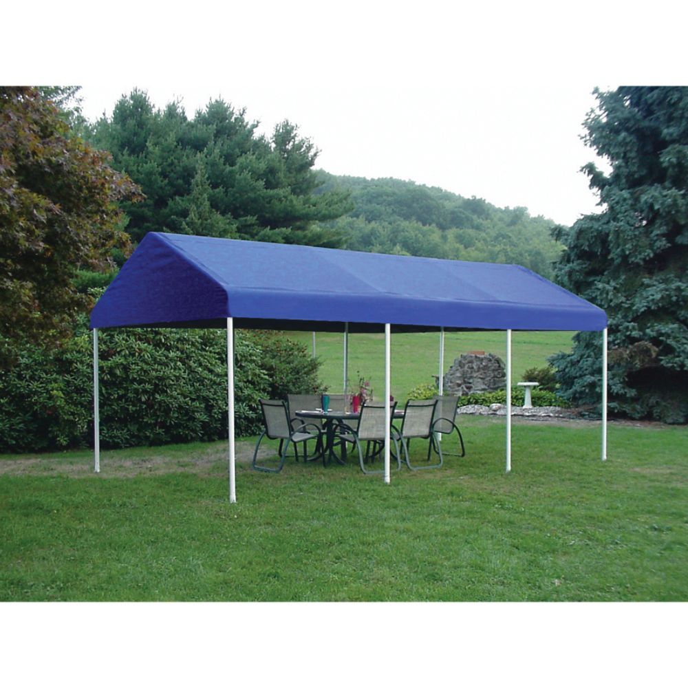 Shelter Logic 10x20 Celebration II 8- Leg Canopy - Sky Blue