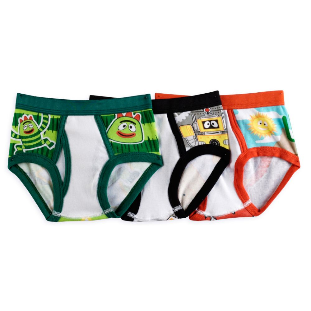 Yo Gabba Gabba Toddler Boy's 3-Pack Briefs Multi;Multi-color