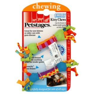Petstages, Inc  Kitty Chews, Chilly, 1 toy