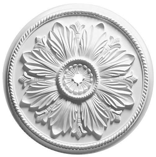 Renaissance Primed Medallion 41 diameter