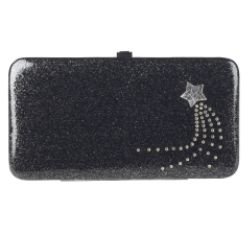 Piper & Blue Fashion Frame Shooting Star Patent Glitter Wallet