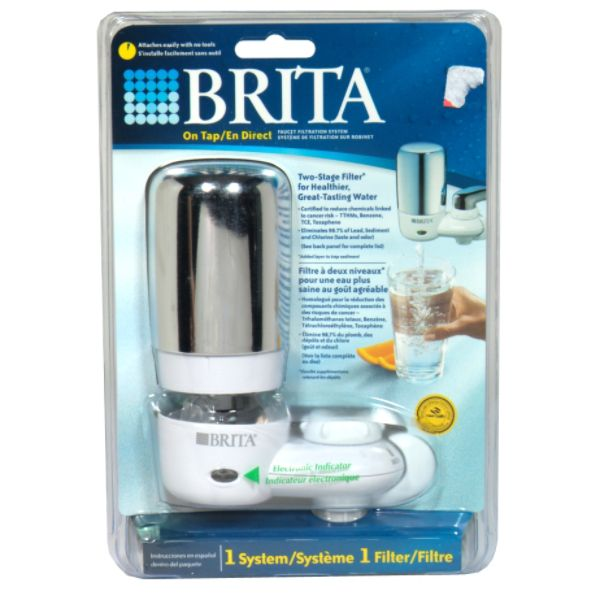 Brita Faucet Filtration System, 1 system at Sears.com