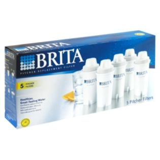 Brita  Pitcher Replacement Filter, 5 filters