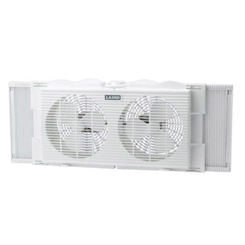 7 in. Twin Window Fan 2 Speed