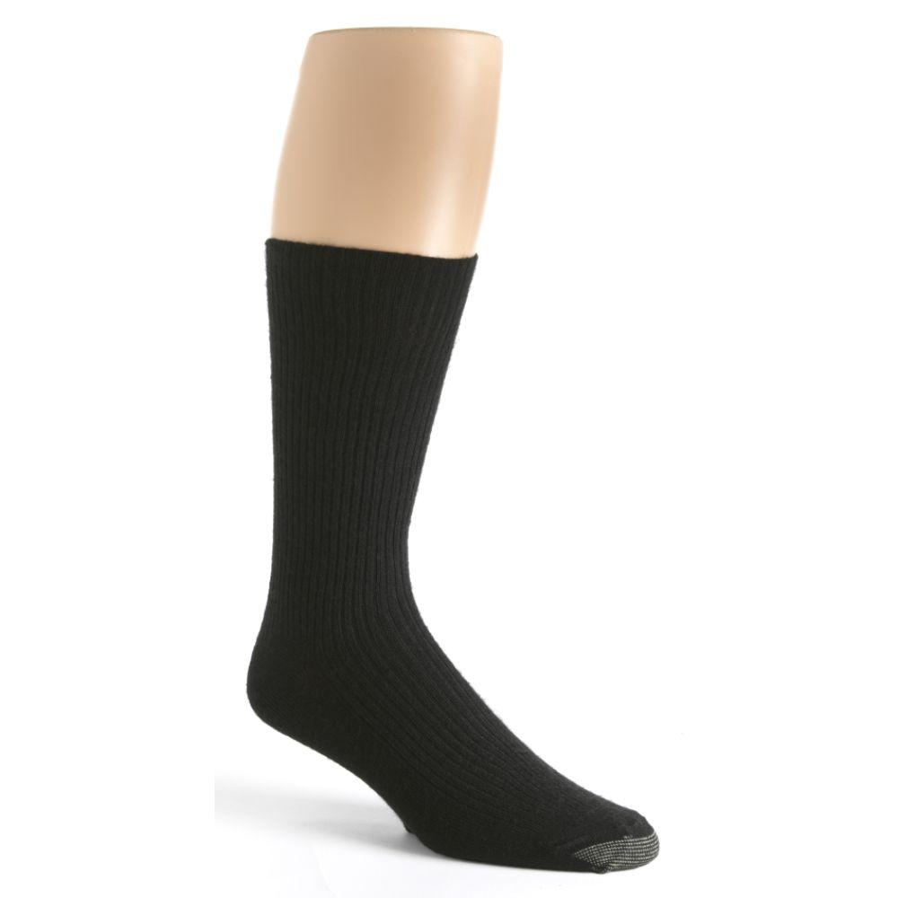 Silvertoe Fall Proof Acrylic Socks - 3 pack Black;Blue;Navy;Brown