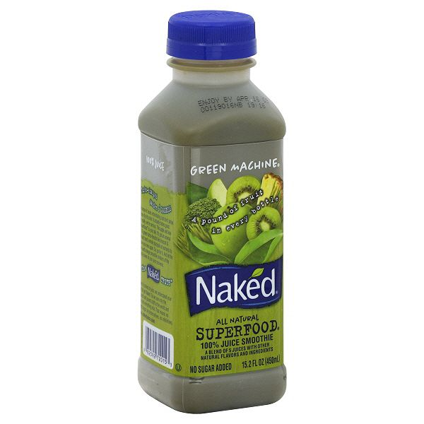 Buy naked juice drinks are not