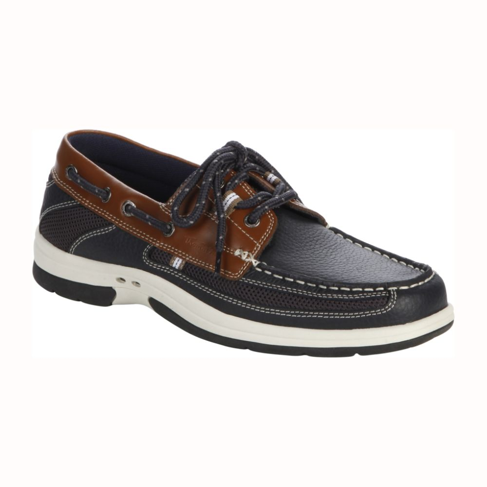 Thom McAn Men's Kellan Boat Shoe - Navy $ 34.99